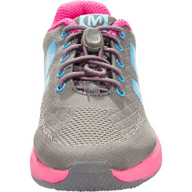 Merrell Versent Shoes Mädchen grey/pink/turq